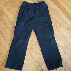 Childrens place pull on cargo pants